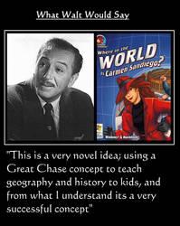 What Walt Would Say#178-CarmenSandiego