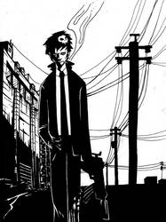 Agent Black by Robosockmonkey
