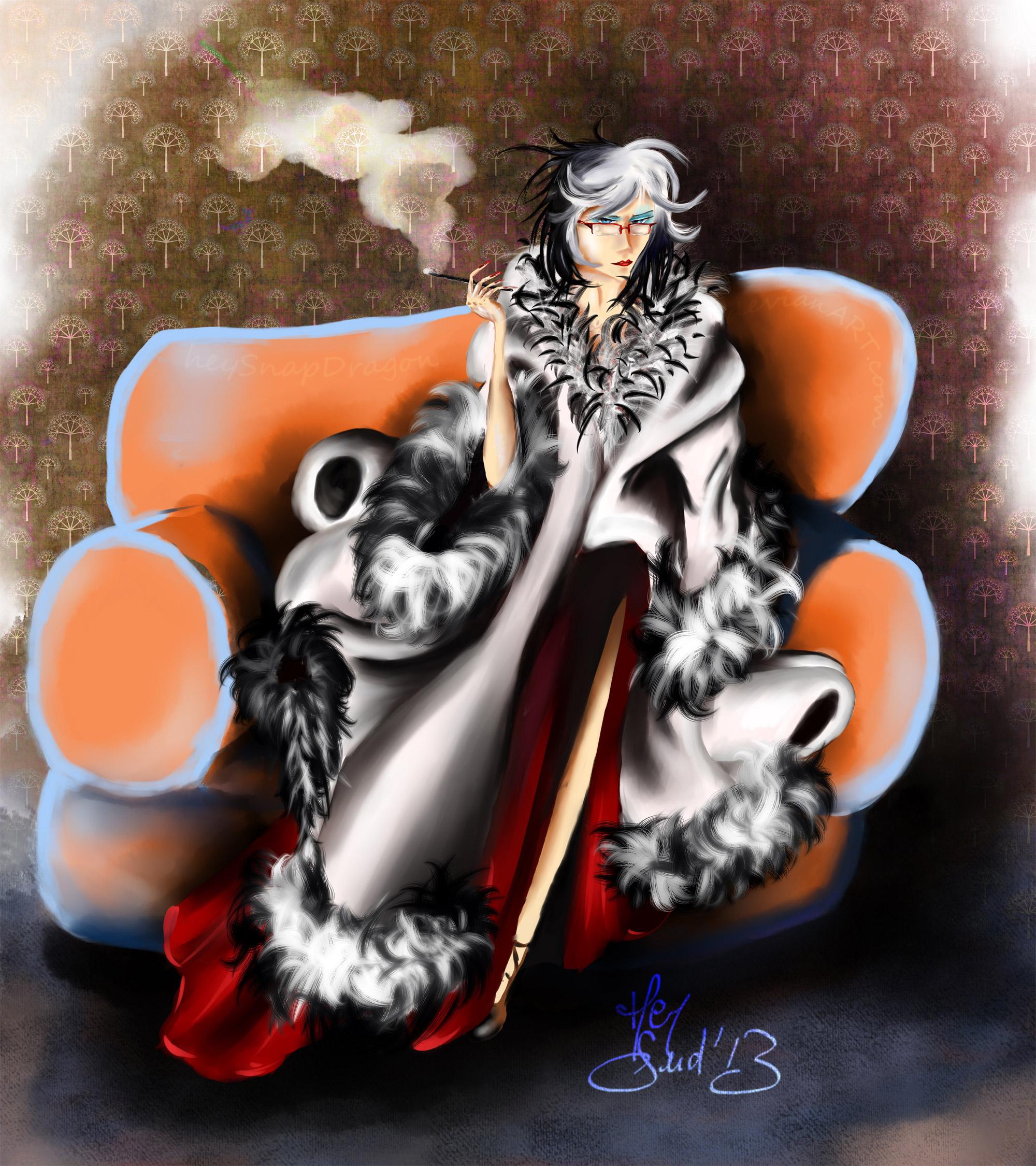 Ishida Cruella Devil Heysnapdragon