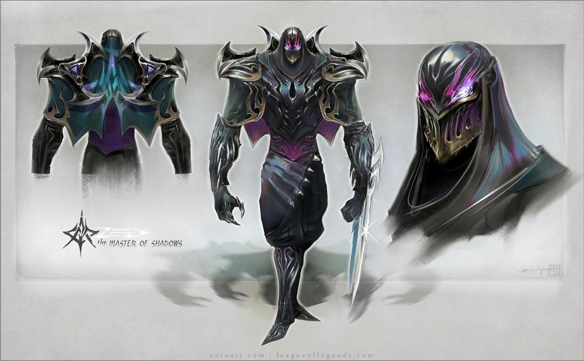 Zed  the Master of Sha...