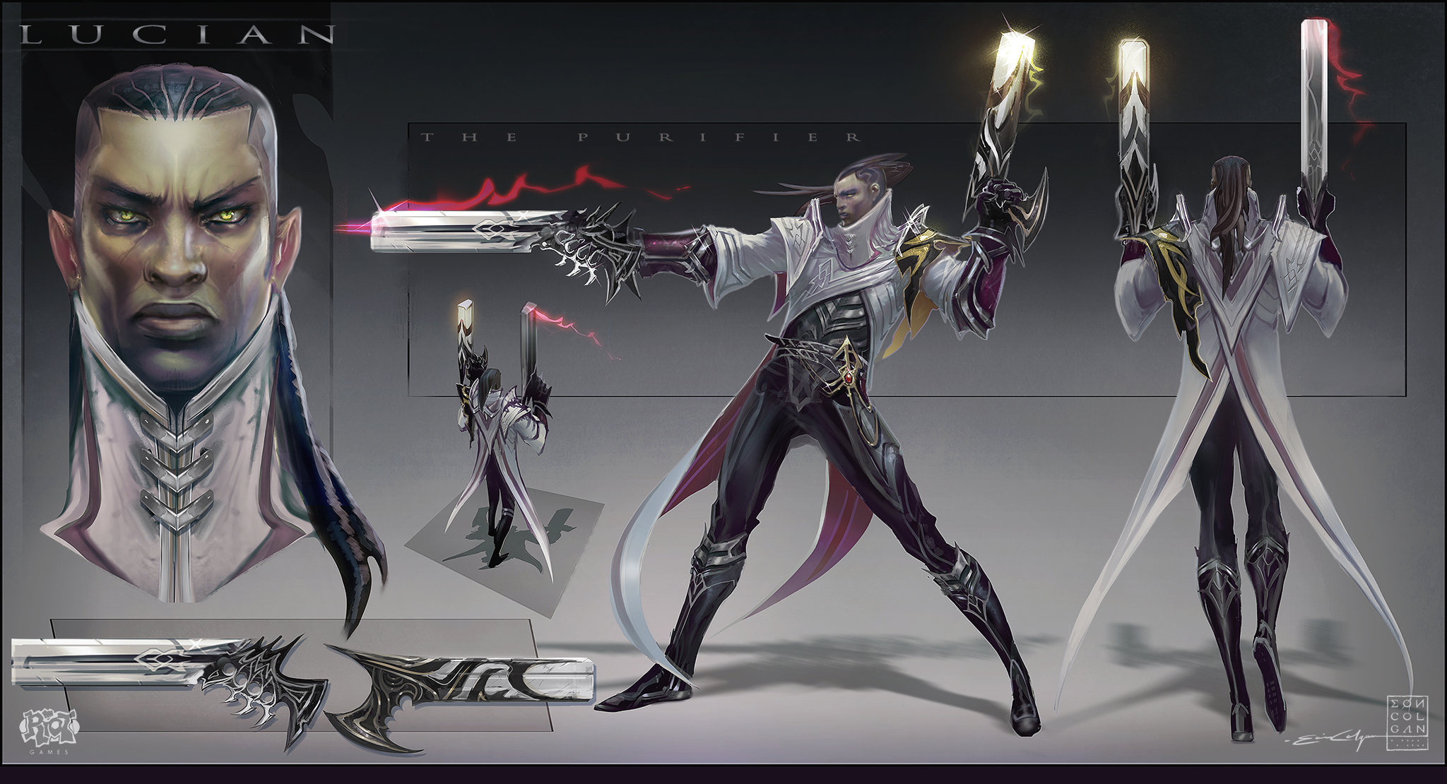 Lucian - FInal Color Concept by eoinart
