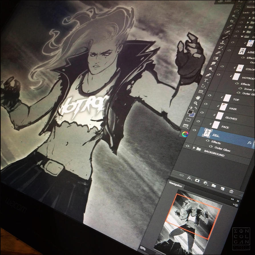 Ronda Rousey - Spirit of Piper by eoinart