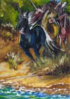 unicorns to the shore by jupiterjenny