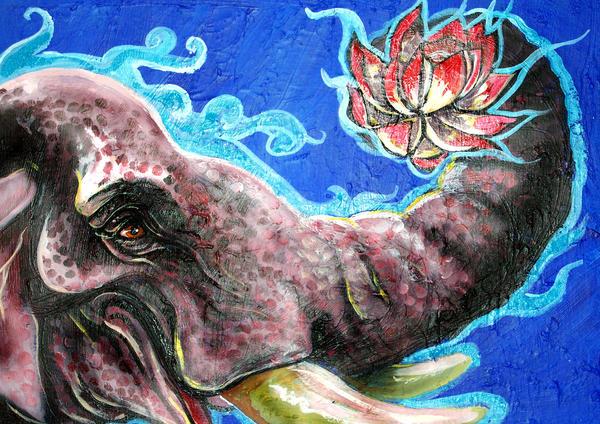 buddha elephant wallpaper art - photo #5