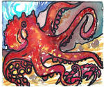 Octopus ACEO