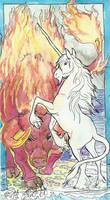 The Last Unicorn Red Bull by jupiterjenny