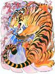 Tiger wall tat