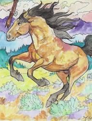 Race the wind by jupiterjenny