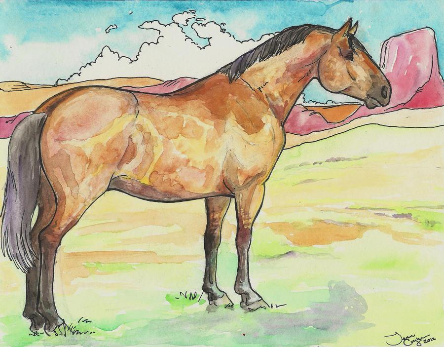 the quarter horse by jupiterjenny