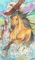 spirit stallion of freedom by jupiterjenny