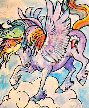 Rainbow Dash painting for sale