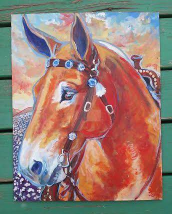 Pretty Mule by jupiterjenny