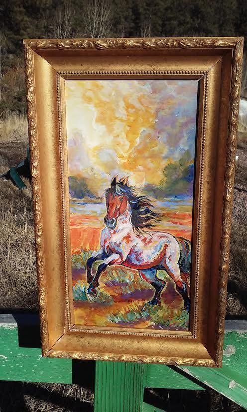 Mustang storm cloud by jupiterjenny