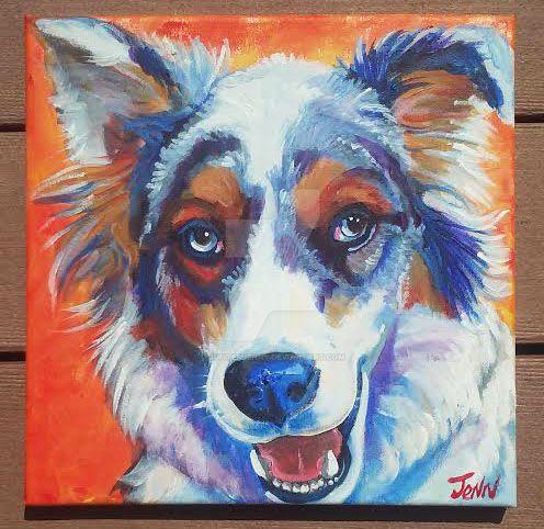 My dog Wyatt by jupiterjenny
