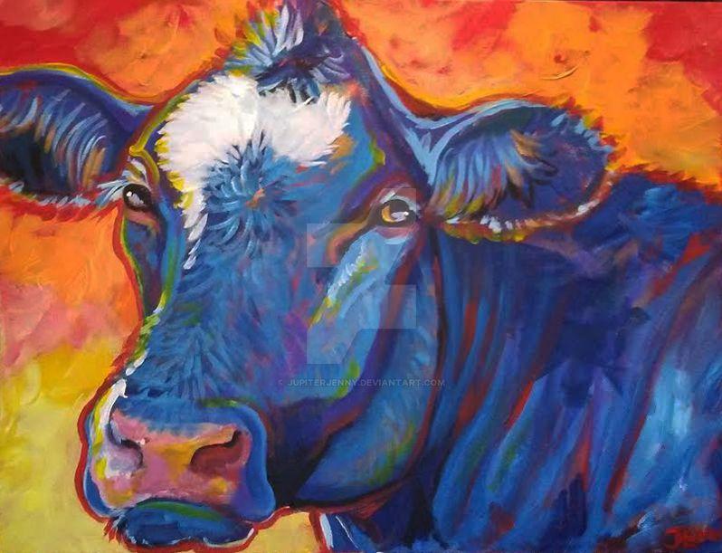 Cow commission 2 by jupiterjenny