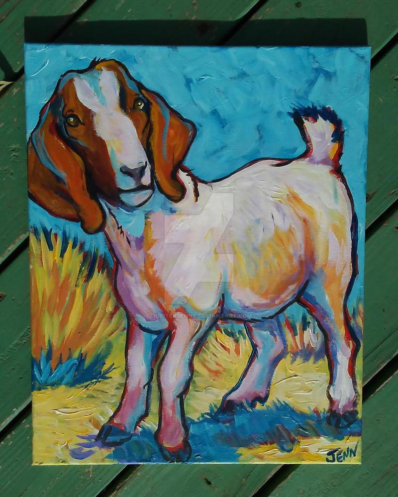 a goat by jupiterjenny