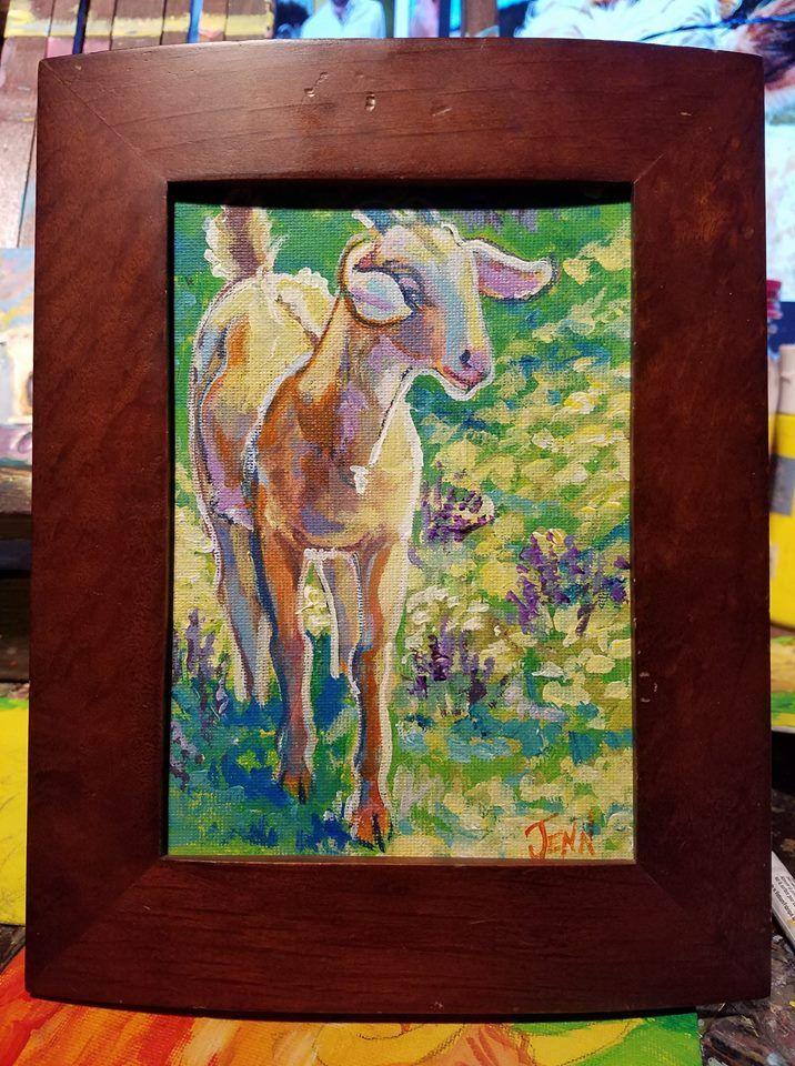 sweet goat by jupiterjenny