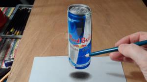 3D Drawing RedBull