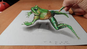 Jumping Frog 3D