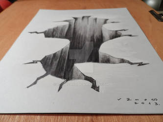 Drawing 3D Hole, High resolution