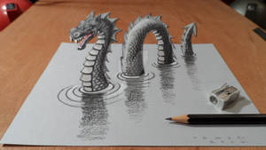 3D Loch Ness Monster