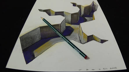 Anamorphic Gap by VamosArt