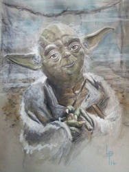 Yoda by LouPons