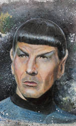Spock by LouPons