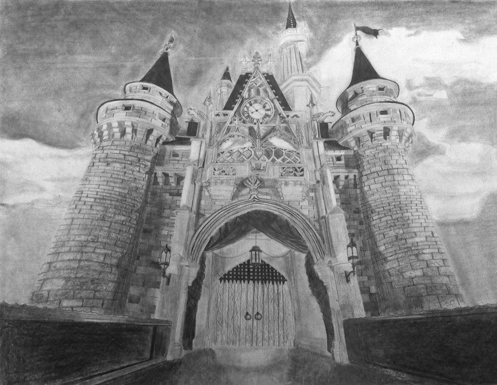 Cinderella's Castle by copyninja31