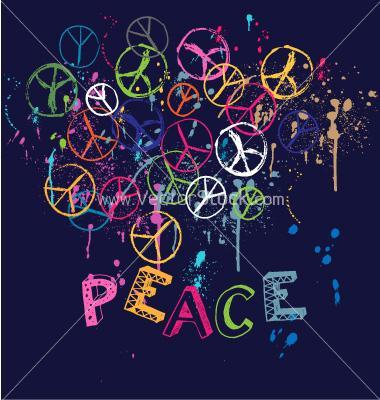 peace sign splatter paint by Beccabear01 on DeviantArt