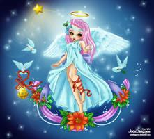 Christmas Angel by AlivonOrtiz