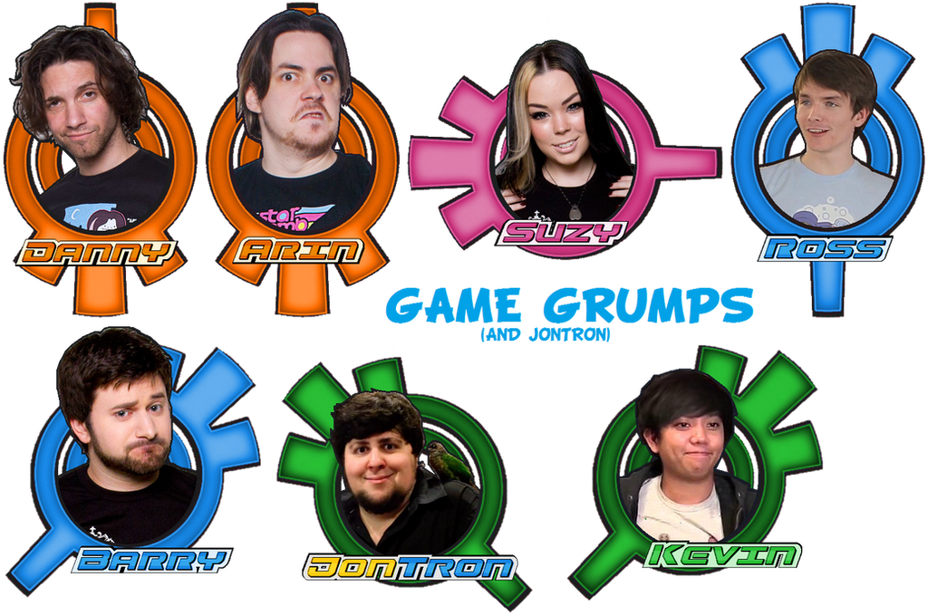 JonTron and Game Grumps Face Badges by 10Networks on DeviantArt