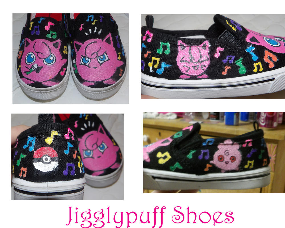 Jigglypuff Shoes by mandykat