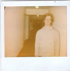 Polaroid pic of myself by warzawa