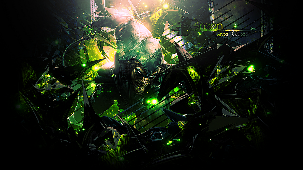 Green Arrow Wallpaper By ZFlashyStyle