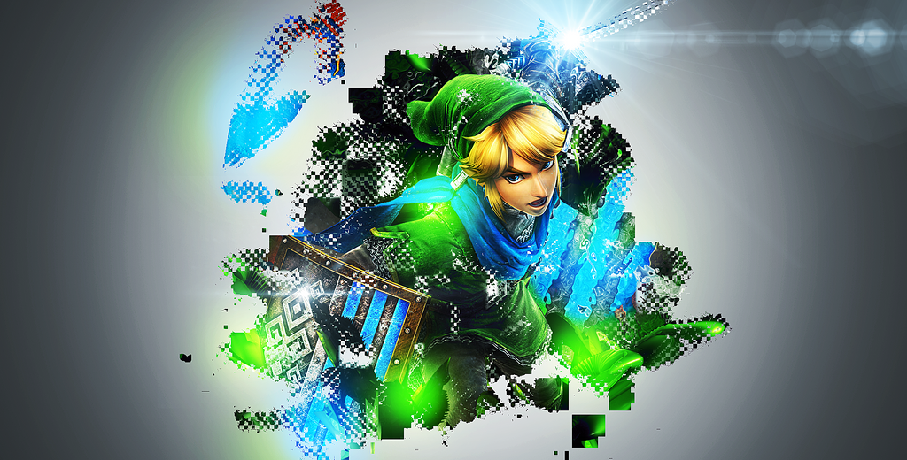 Link Hyrule Warriors Wallpaper By ZFlashyStyle