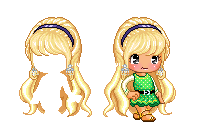 Fantage Custom Hair ~ Sweet Blonde Hair by Fantage-CustomMaker