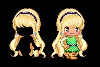 Fantage Custom Hair ~ Sweet Blonde Hair by Fantage-CustomMaker