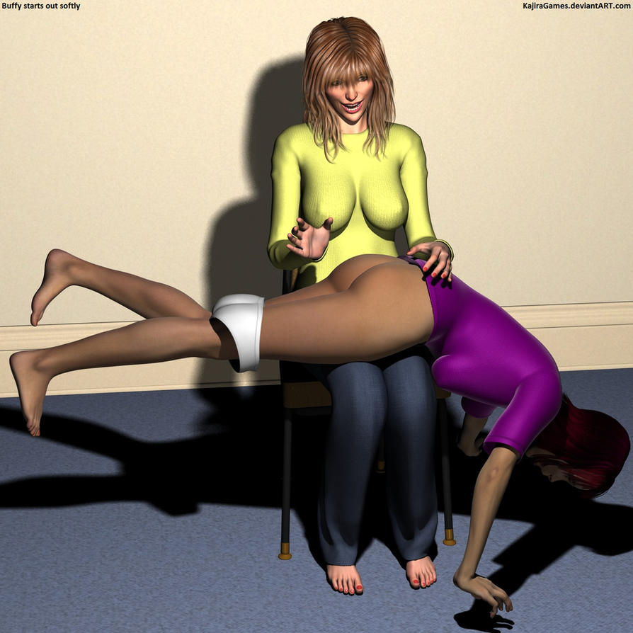 Buffy's Spanking Club - Formation 5 by KajiraGames