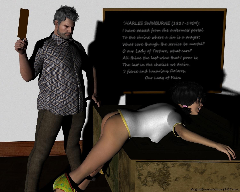 Suki's Sentence: Third Spanking by KajiraGames