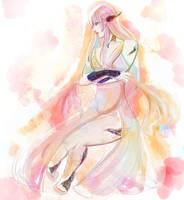 Tsubari - Watercolor practice by Tsu-bari