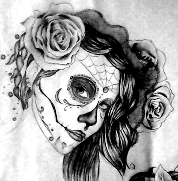 Sugar Skull Drawing Tumblr Images amp Pictures Becuo