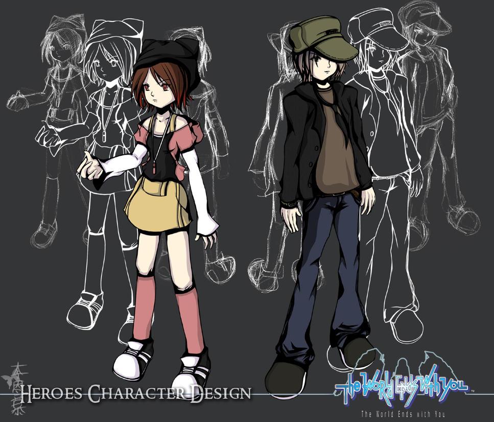 Heroes: Kumiko and Tysuuri by MuEnLi