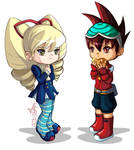 Subaru and Luna- Cookie