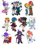 Gaia Online Commission Wall 1