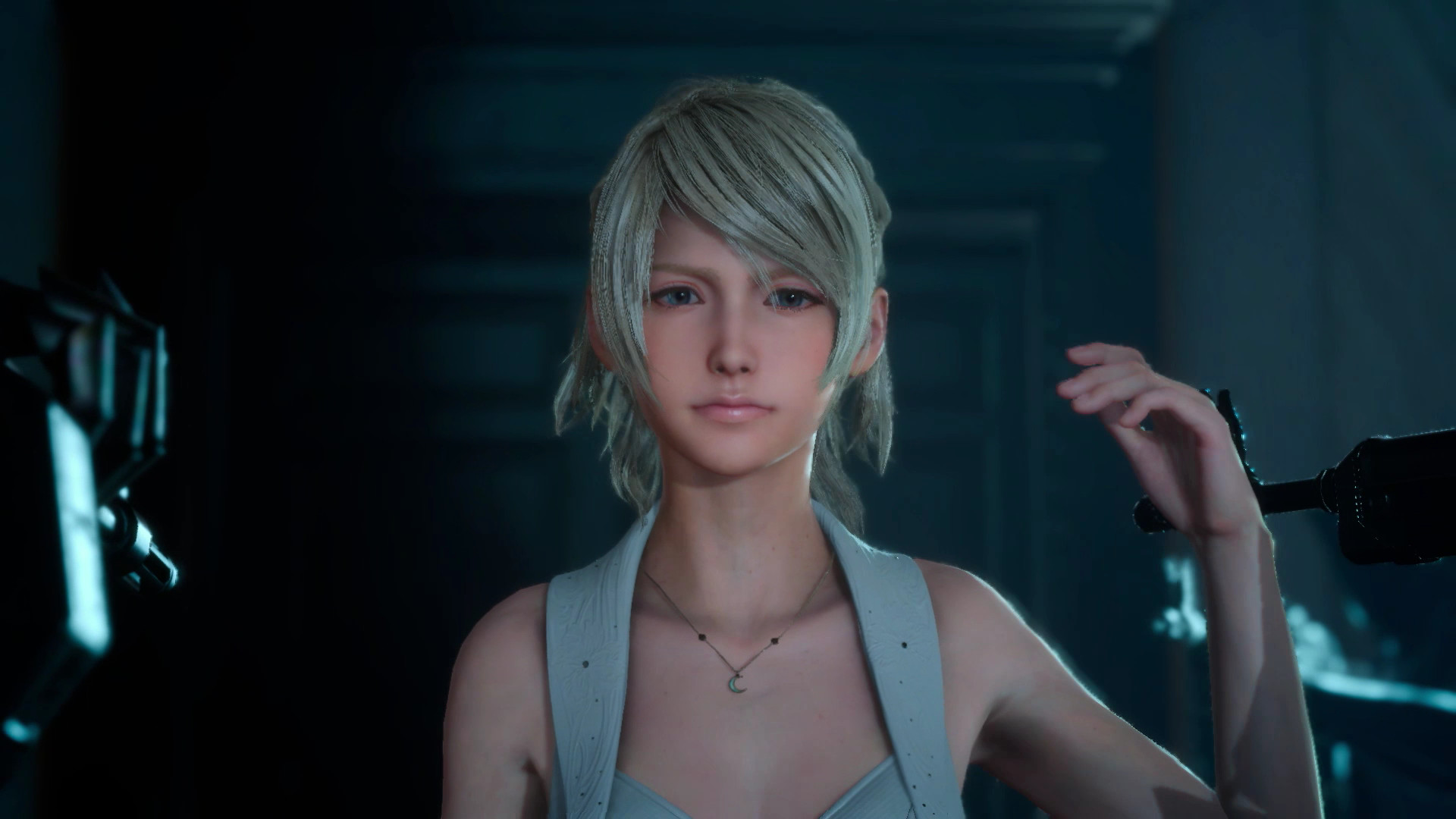 Some Slight Changes Made To Lunas Face In Newer Builds Of FFXV