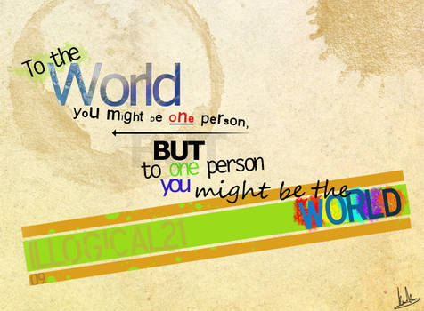 To The World...