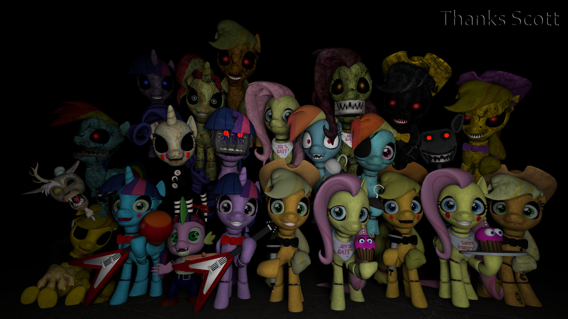 Five Nights At Pinkie's Stamp By RainbowStriked On DeviantArt