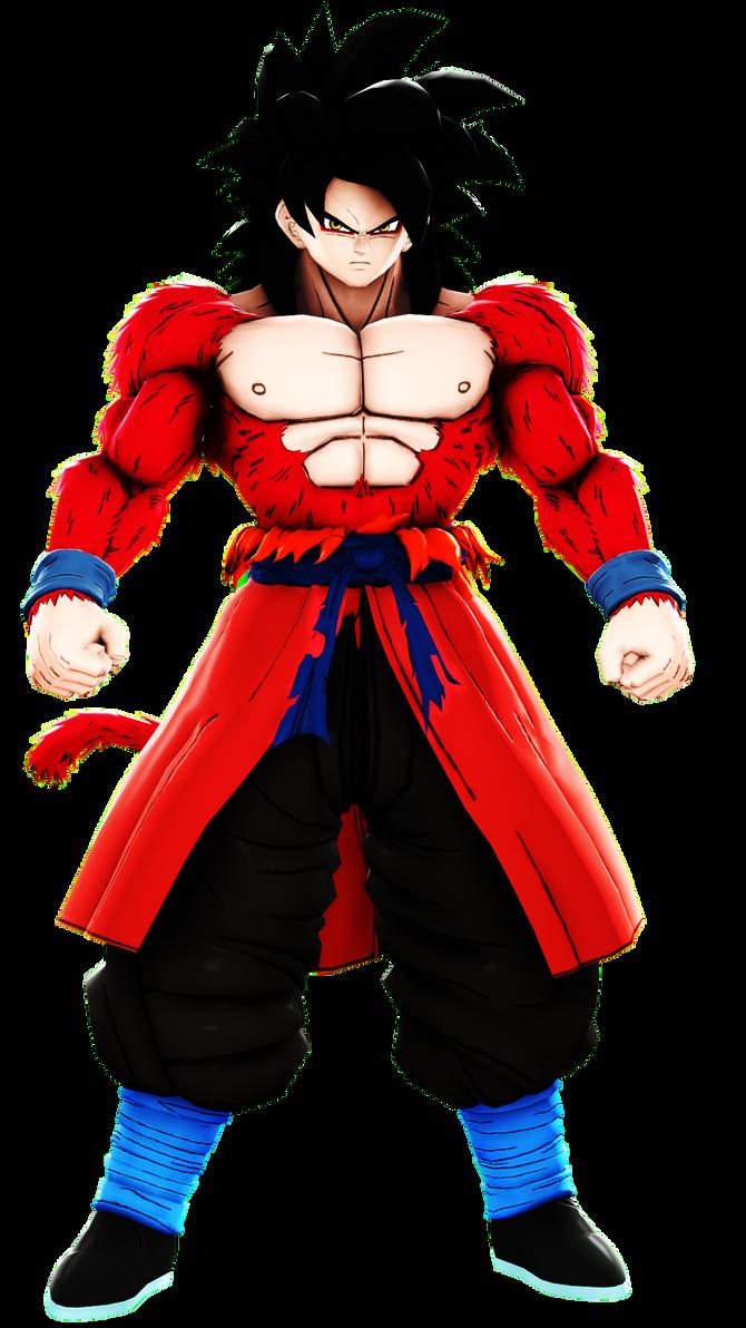 DBXV2-Xeno Goku ssj4 by MrTermi988 on DeviantArt
