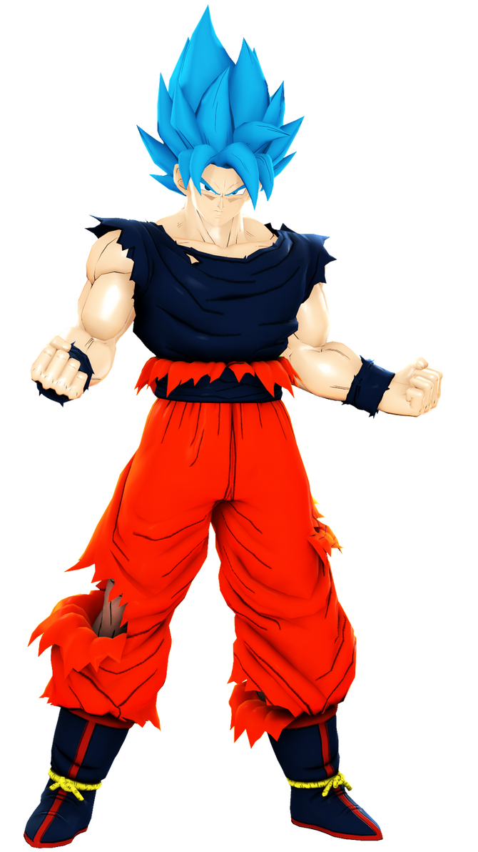 costume |Goku Blue Suit